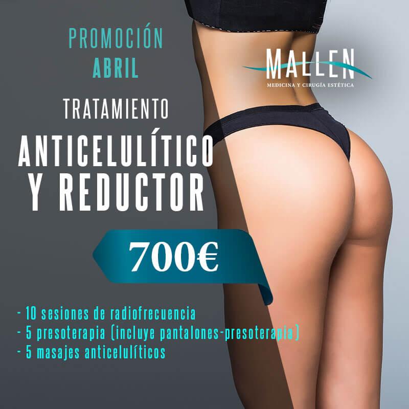 Promo Abril anticelulitico y reductor